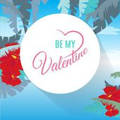 Happy Valentines day card — Vetorial Stock