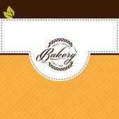 Vector design elements of bakery shop — Stock Vector