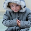 Freezing girl — Stock Photo #33351741
