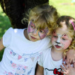 Face-painting — Stockfoto