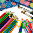 Writing utensils — Stock Photo
