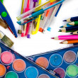 Stock Photo: Writing utensils