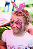 Face-painting — Stock Photo