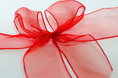 Red ribbon — Foto de Stock