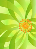 Flower background — Vector de stock