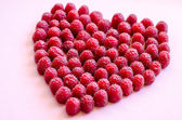 Cranberries heart — Stock Photo
