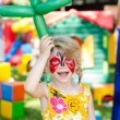 Child with face painting — Stock Photo #48050129