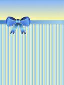 Blue ribbon — Vecteur