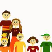 Children concept — Vector de stock