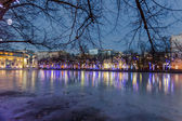 Winter, Chistye Prudy — Stock Photo