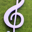 Music key symbol — Stock Photo