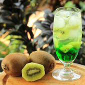Kiwi juice Soda — Foto Stock