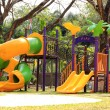 Stock Photo: Colorful slider play ground