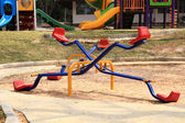 Colorful seesaw — Stock Photo