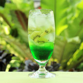 Kiwi juice Soda — Stockfoto