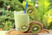 Kivi smoothie — Stok fotoğraf