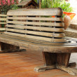 Stock Photo: Teak chairs