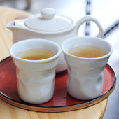 Cup of Tea set — Stock Photo