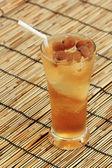 Longan juice cold water — Stock Photo