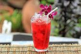 Iced roselle juice — Stock Photo