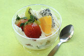 Mix fruit tarts — Stock Photo