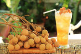 Fresh longan juice — Stock Photo