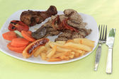 Mix grill Steak  — Stok fotoğraf