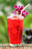 Iced roselle juice — Foto Stock