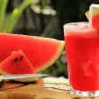 Fresh watermelon smoothie — Stock Photo #41424123