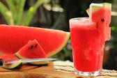 Fresh watermelon smoothie — Zdjęcie stockowe