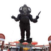 Big bronze statue of Hindu god Ganesh — Stock Photo