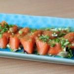 Salmon seshimi — Stock Photo #41558639