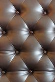 Brown velvet cushion — Stock Photo