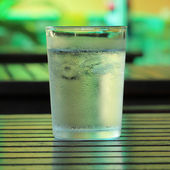 Buzlu su — Stok fotoğraf