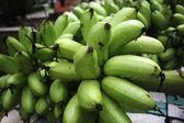 Green banana — Stock Photo