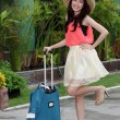 Asian woman prepared the travel — Stock Photo #42041325