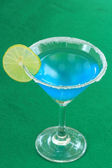 Blue margarita cocktail — Stockfoto