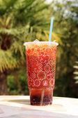 ποτήρι κόκα κόλα — 图库照片