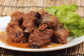 Barbecue Pork Ribs — Stock Photo