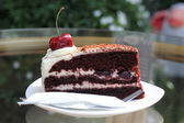 Black Forest Cake — Stock Photo