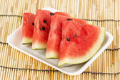 Slice of water melon — Stock Photo