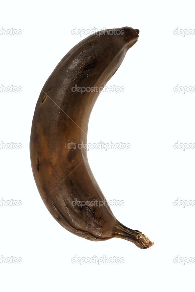 Zwarte banaan
