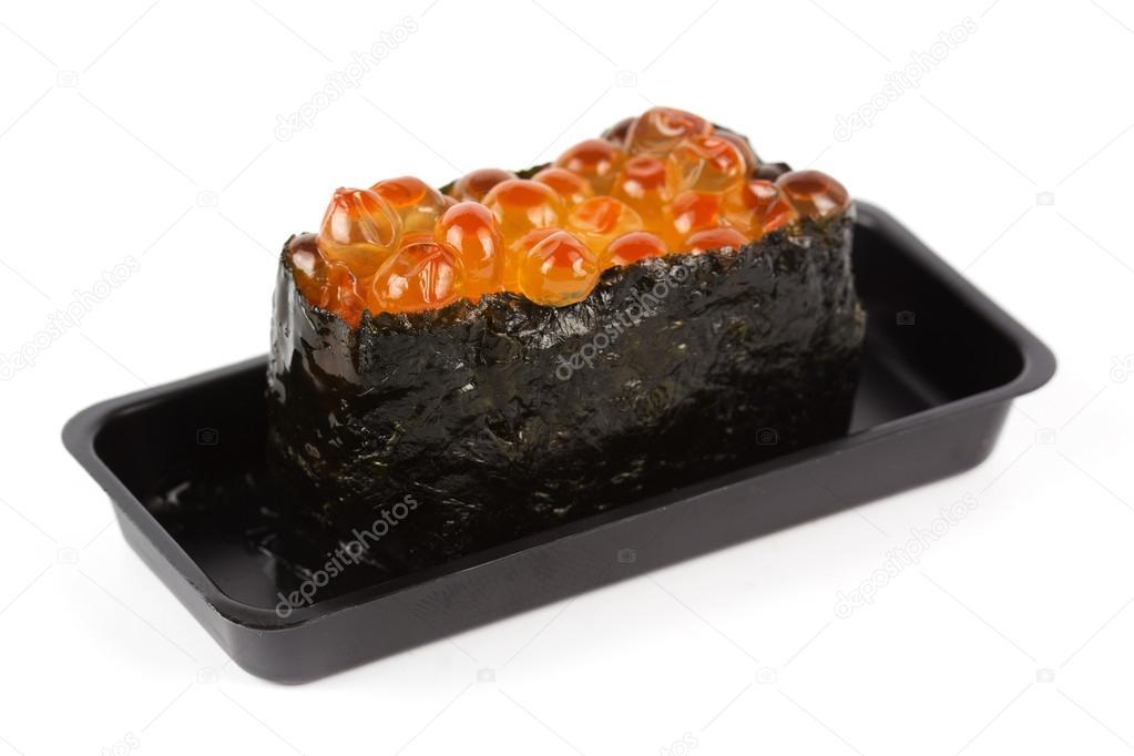 Ikura (fish egg) Sushi — Stock Photo © kung_mangkorn #51079493