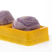 Taro purple bread Chinese style — Foto de Stock
