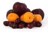 Cherry apricot prune — Stock Photo
