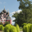 Russia, Moscow, the temple of Tihvinskaya icon of Our Lady in th — Stock Photo
