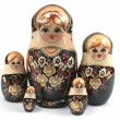 Matryoshka family — Stock Photo