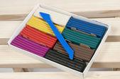 Kolekce plastelíny — Stock fotografie