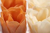 Jabón formado como una flor — Foto de Stock