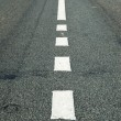 Asphalt road with marking — Stock Photo #34552255